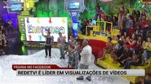 RedeTV! é líder da TV aberta em vídeos visualizados no Facebook