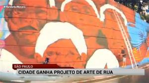 Doria divulga projeto sobre arte de rua