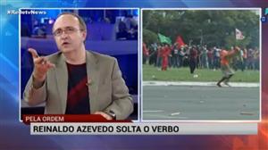 Temer fez bem ao chamar tropa federal, diz Reinaldo Azevedo sobre protestos