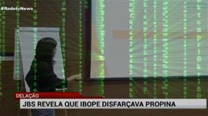 """Delação da JBS aponta que Ibope """"disfarçava"""" propina"""