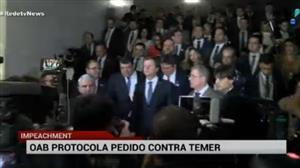 OAB protocola na Câmara pedido de impeachment contra Temer