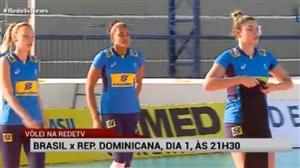 RedeTV! transmite Brasil x República Dominicana pelo vôlei feminino