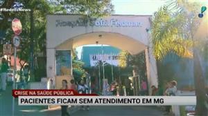 Pacientes ficam sem atendimento em Minas Gerais
