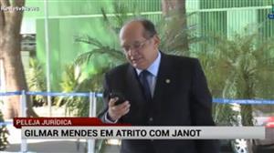 """""""Janot faz ataques pessoas contra mim"""", diz Gilmar Mendes"""