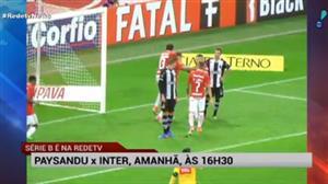 RedeTV! transmite Paysandu x Inter neste sábado, às 16h30
