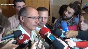 Em evento, Alckmin diz que PSDB tem compromisso com o Brasil