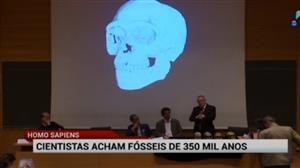 Cientistas descobrem fóssil de Homo sapiens com 350 mil anos