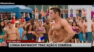 Longa 'Baywatch' traz ação, comédia e corpos sarados