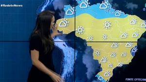 Massa de ar seco predomina sobre o Brasil