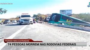 Acidente em Minas Gerais deixa dez pessoas mortas