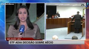 1ª Turma do STF adia decisão sobre prisão de Aécio Neves