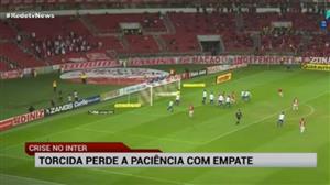 """Na Série B, Inter e Paraná fazem """"jogo para se esquecer"""""""