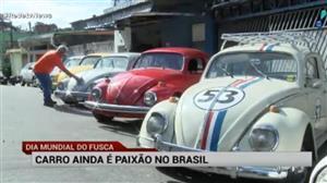 Fusca ainda é uma paixão no Brasil