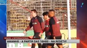 Brasil de Pelotas recebe o Inter neste sábado pela Série B