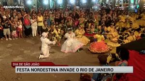 No Dia de São João, festa nordestina invade o Rio de Janeiro