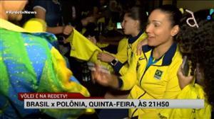 Meninas do vôlei fazem a festa dos fãs em Belo Horizonte