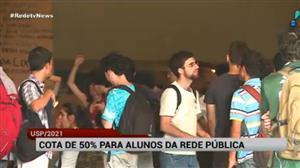 USP abrirá vagas de cota para alunos da rede pública