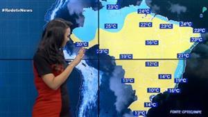 Frio começa a perder força pelo Brasil