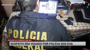 Homem é preso em Poá (SP) por suspeita de pedofilia na internet