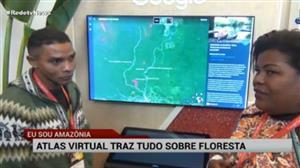 Projeto apresenta atlas virtual sobre a Amazônia
