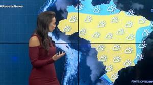 Frente fria começa a avançar pelo Sul do Brasil
