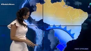 Massa de ar polar continua avançando sobre o Brasil