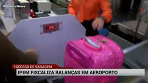 Órgão fiscaliza aeroporto de Confins para impedir fraudes em balanças