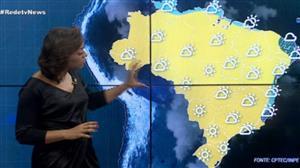 Chuva aparece no Sudeste e no Nordeste nesta quinta (20)