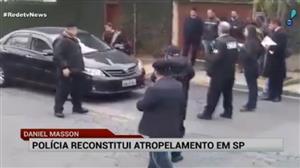 Polícia de SP reconstitui atropelamento feito por mulher contra namorado