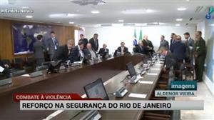 Governo enviará 800 policiais para reforçar segurança do Rio