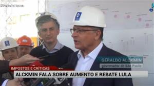 Alckmin critica aumento de impostos do governo Temer
