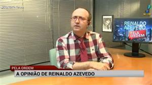"""""""Skaf erra quando 'ressuscita' o pato nesse momento"""", diz Reinaldo Azevedo"""