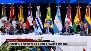 Crise na Venezuela domina cúpula da Mercosul na Argentina