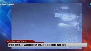 PM agride carroceiro no Rio Grande do Sul