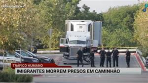 Dez imigrantes morrem nos EUA após ficarem presos num caminhão