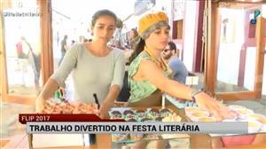 Festival literário, Flip incentiva comércio em Paraty
