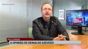 """""""Apanhei muito por defender o voto em lista"""", diz Reinaldo Azevedo"""