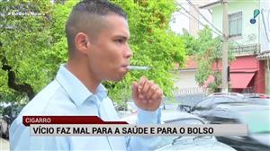 Em 30 anos, gasto com cigarro chega a mais de R$ 100 mil