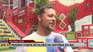 'City tour' conta detalhes do centro histórico do Rio de Janeiro