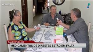 Pacientes com diabetes em Fortaleza reclamam da falta de medicamentos