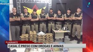 Casal é preso em BH com drogas e armas