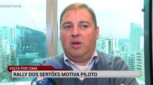 Rally dos Sertões motivo piloto a cuidar da saúde