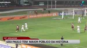 São Paulo tem a maior média de público de sua história