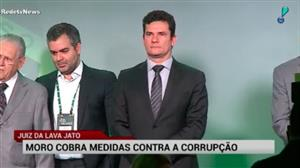 Moro critica reforma política e cobra medidas contra corrupção