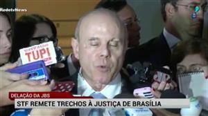 STF remete trechos da delação da JBS à Justiça Federal do DF