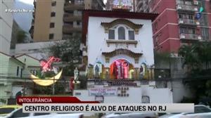 Centro espírita na zona sul do Rio é novamente alvo de ataque
