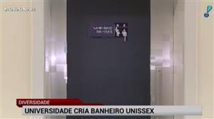 Universidade em SP cria banheiro unissex