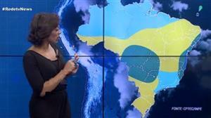 Chuva ainda atinge boa parte da região Sudeste nesta terça (22)