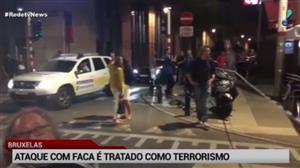 Ataque com faca na Bélgica como terrorismo