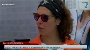 Mulheres fazem a diferença no Rally dos Sertões